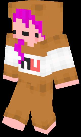 Minecraft Skin Nutella